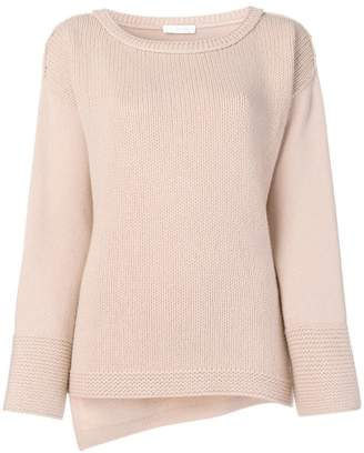 Cruciani boat neck knit sweater