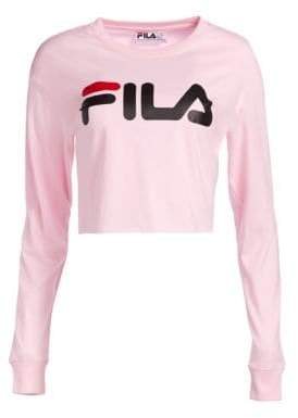 Image result for fila cropped long sleeve