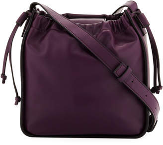 French Connection Dane Faux-Leather Crossbody Bag, Purple