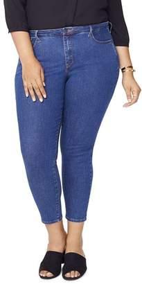 NYDJ Plus Ami Skinny Jeans in Batik Blue
