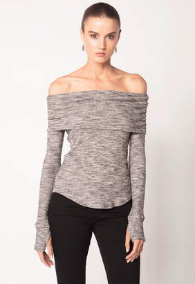 Feel The Piece Larue Off Shoulder Sweater