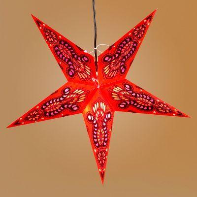 Red Star Paper Lantern