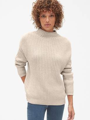 Gap Shaker Stitch Pullover Turtleneck Sweater