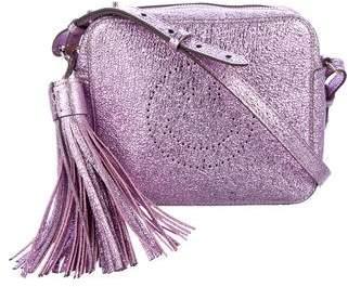 Anya Hindmarch Metallic Smiley Crossbody Bag