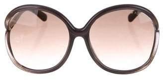 Tom Ford Rhi Oversize Sunglasses w/ Tags