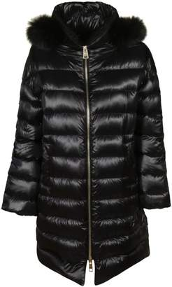 Herno (ヘルノ) - Herno Furry Detail Long Padded Jacket