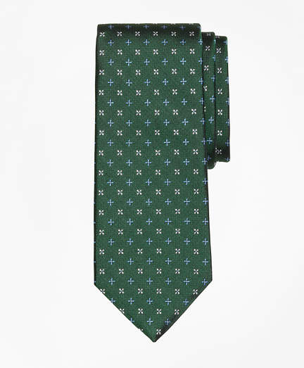 Brooks Brothers  Mini Alternating Flower Tie