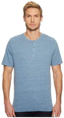 Threads 4 Thought Baseline Tri-Blend Short Sleeve Henley Men's Short Sleeve Pullover