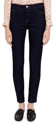 Gerard Darel Gail Low Rise Slim Jeans in Blue