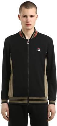 Zip-Up Jersey Track Jacket