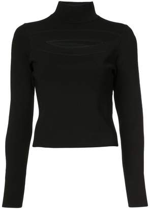 Proenza Schouler cut-out turtleneck sweater