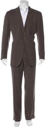 Giorgio Armani Notch-Lapel Two-Piece Suit