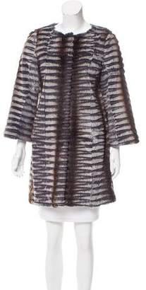 Linda Richards Rabbit Fur Coat