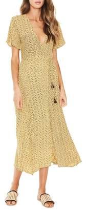 Faithfull The Brand Leila Floral Wrap Dress
