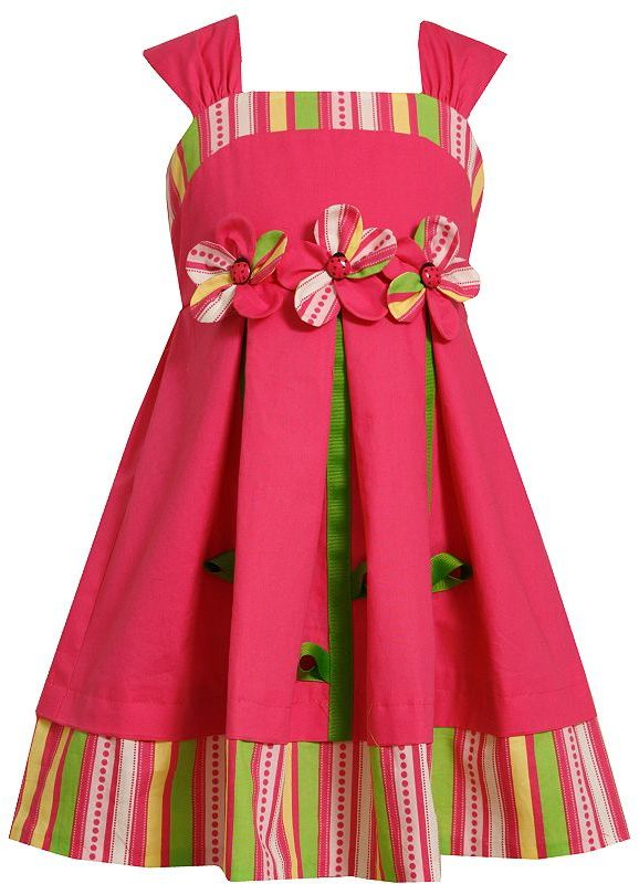 Bonnie Jean sprouting flowers sundress - toddler