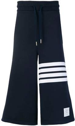 Thom Browne 4-bar oversized cotton shorts