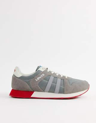Levi's webb runner trainers grey