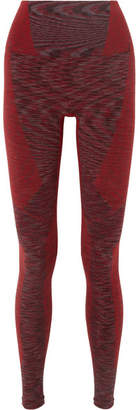 LNDR - Resistance Stretch-knit Leggings - Burgundy