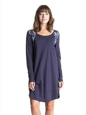Roxy NEW ROXYTM Womens Coconut Telegraph Long Sleeve Dress Womens Summerwear MORE COL