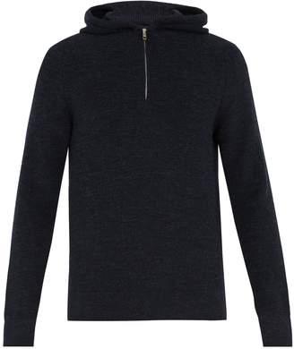 Maison Margiela Half-zip wool sweater
