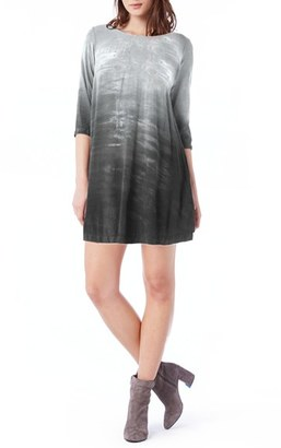 Women's Michael Stars Ombre Print Swing Minidress $138 thestylecure.com
