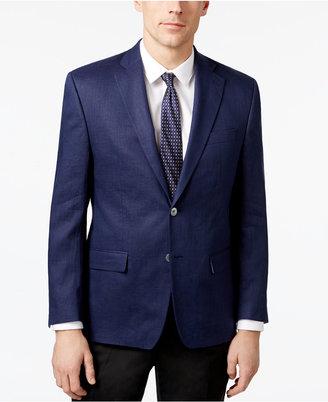 Lauren Ralph Lauren Men's Classic-Fit Ultra-Flex Solid Linen Sport Coat $295 thestylecure.com