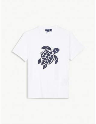 Vilebrequin Tangon turtle cotton T-shirt 4-14 years