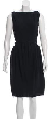Balenciaga Knee-Length Silk Dress