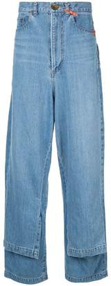Puma Maison Yasuhiro double layer jeans