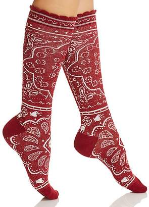 Kate Spade Bandana Knee Socks