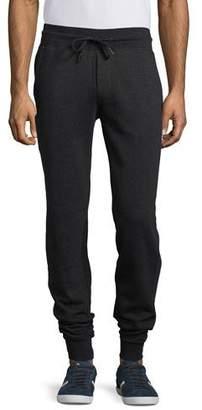 Moncler Slim-Fit Jogger Pants, Charcoal $320 thestylecure.com