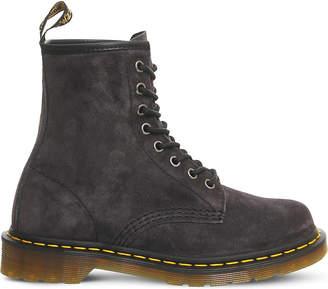Dr. Martens 8-eyelet suede boots