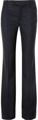 Joseph Rocker Super 100 Wool-twill Wide-leg Pants - Navy
