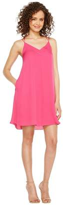 Heather Sophia Silk Spaghetti Swing Dress Women's Dress