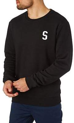 Swell Sweatshirts Men's Dropout Crew - Black