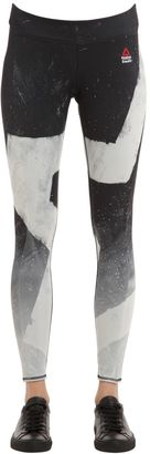 Crossfit Printed Microfiber Leggings $108 thestylecure.com