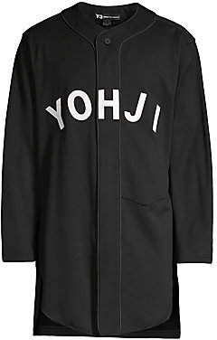 Y-3 Men's Long Baseball Top