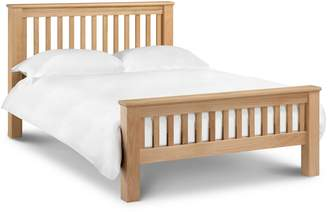 Debenhams JULIAN BOWEN Oak 'Newbury' Bed Frame With 'Elite' Mattress
