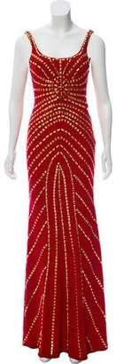 Jovani Open Back Embellished Dress
