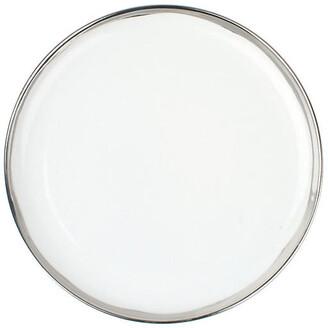 Canvas Set of 4 Dauville Dinner Plates - Platinum