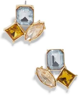 BaubleBar Emalia Crystal Stud Earrings