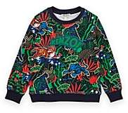 Kenzo Kids' Tiger-Head-Print Cotton Sweatshirt