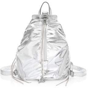 Rebecca Minkoff Julian Metallic Nylon Backpack