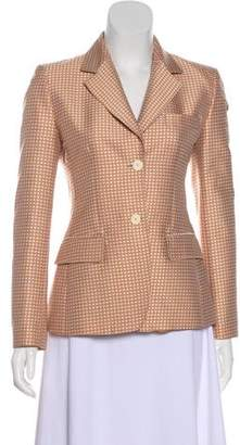 Blumarine Patterned Notch-Lapel Blazer