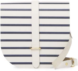 The Cambridge Satchel Company Women's Saddle Stripes Crossbody Bag