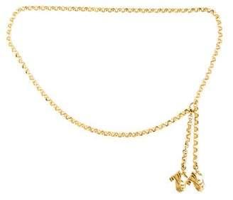 Salvatore Ferragamo Chain-Link Waist Belt