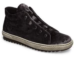 Gabor Mid Top Velvet Sneaker