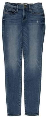 Frame Low-Rise Le Skinny de Jeanne Skinny Jeans