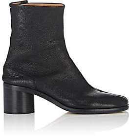 Maison Margiela Men's Tabi Leather Ankle Boots - Black