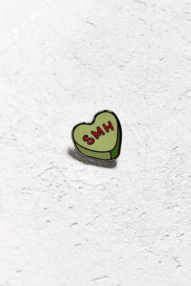 Urban Outfitters UO Heart SMH Pin $10 thestylecure.com